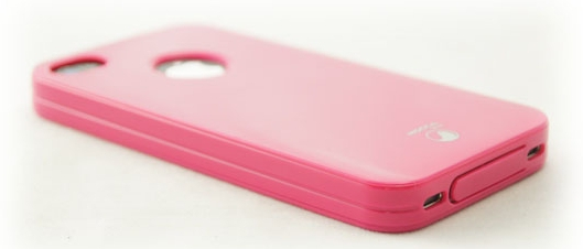 Mocca - Housse gel protection USB Fuschia iPhone 4/4S (G 4 S 022) G4S022FUSCHIA