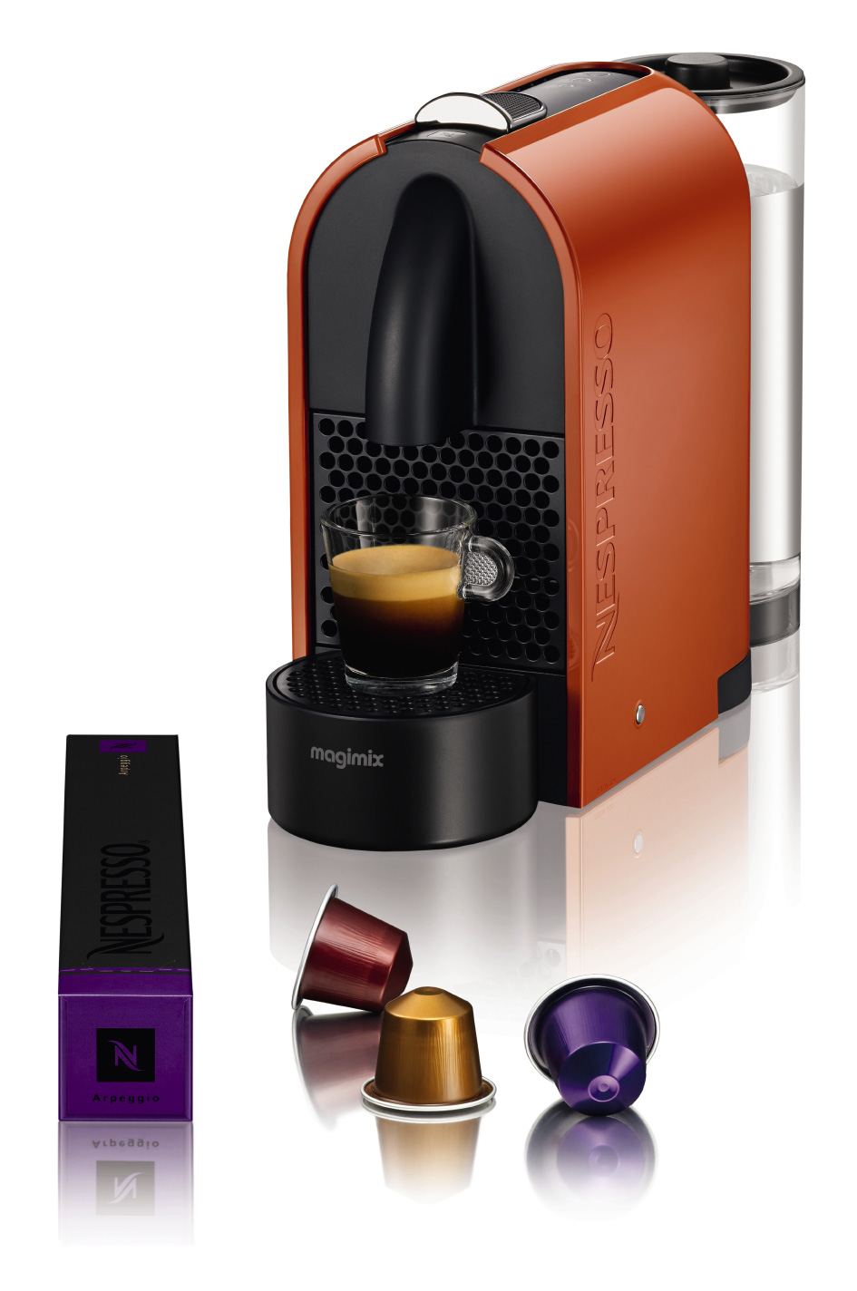 nespresso magimix m130 orange 11341. Black Bedroom Furniture Sets. Home Design Ideas