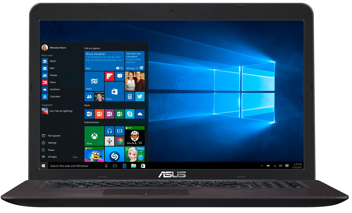 ASUS X756UQTY029T