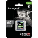 INTEGRAL › SDHC 8 GB-CL 10/45
