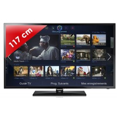 SAMSUNG - UE46F5370 Séries 5 Edge LED - 46 pouces (117 cm) - 100 Hz - HD TV 1080p - Smart TV (TV connectée) - DLNA + Internet