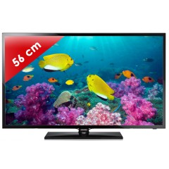 SAMSUNG - UE22F5000 Séries 5 Edge LED - 22 pouces (56 cm) - 100 Hz - HD TV 1080p - 2 HDMI - USB
