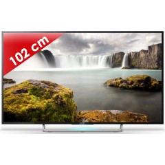 SONY - KDL40W705CBAEP - Edge LED - 40 pouces (102 cm) - HD TV 1080p (Full HD) - 200 Hz - Smart TV - Wi-Fi intégré