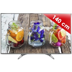 PANASONIC - TX-55DX650E - 55 pouces (140 cm) - UHD /4K - 1000 Hz BMR - Smart TV - 3 HDMI - 2 USB - Son 2 x 10 W - Silver