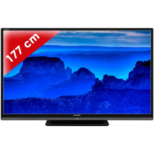 sharp lc 70 le 740 e tv led plus de 52 pouces lc 70 le 740 e villatech. Black Bedroom Furniture Sets. Home Design Ideas