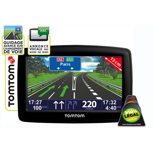 tomtom tomtom xxl europe classic series gps voiture xxl europe classic villatech. Black Bedroom Furniture Sets. Home Design Ideas