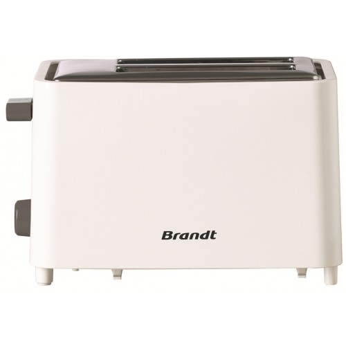 Brandt TO756 Rouge 750 W 2 fentes Grille pain TO 756