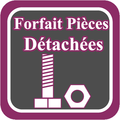 VENTES PIECES DETACHEES - FORFAIT PD DTO 50