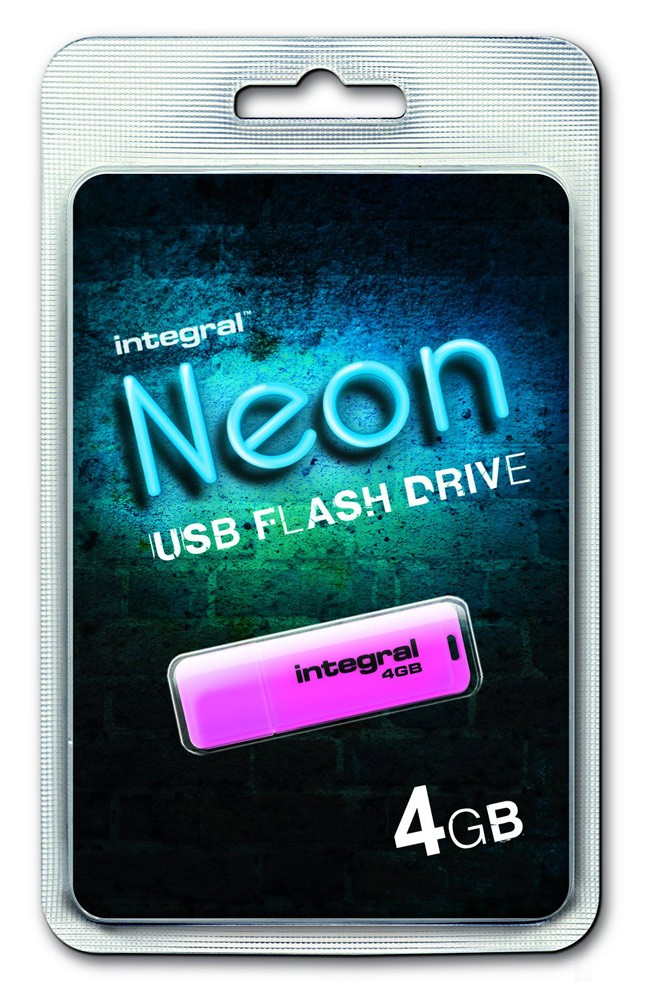 INTEGRAL - NEON ROSE 4 GB