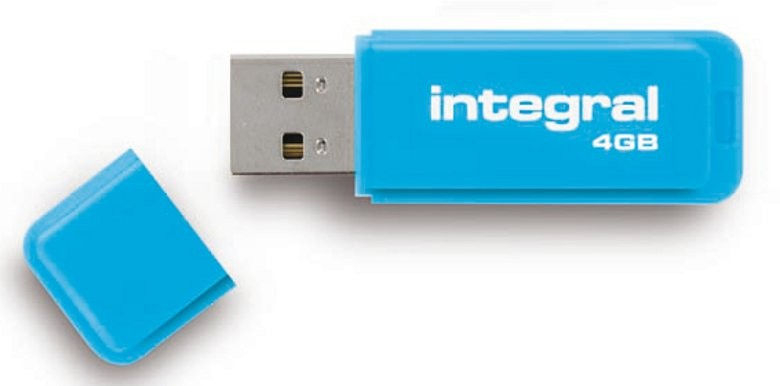 INTEGRAL - NEON BLEU 4 GB