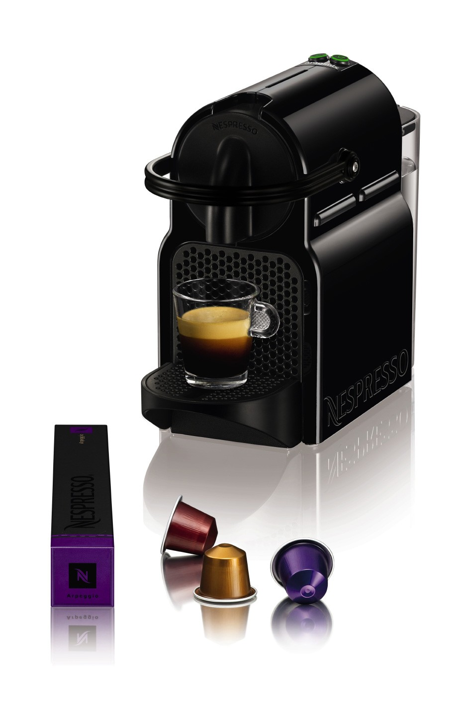 magimix nespresso inissia m105 noir 11350. Black Bedroom Furniture Sets. Home Design Ideas