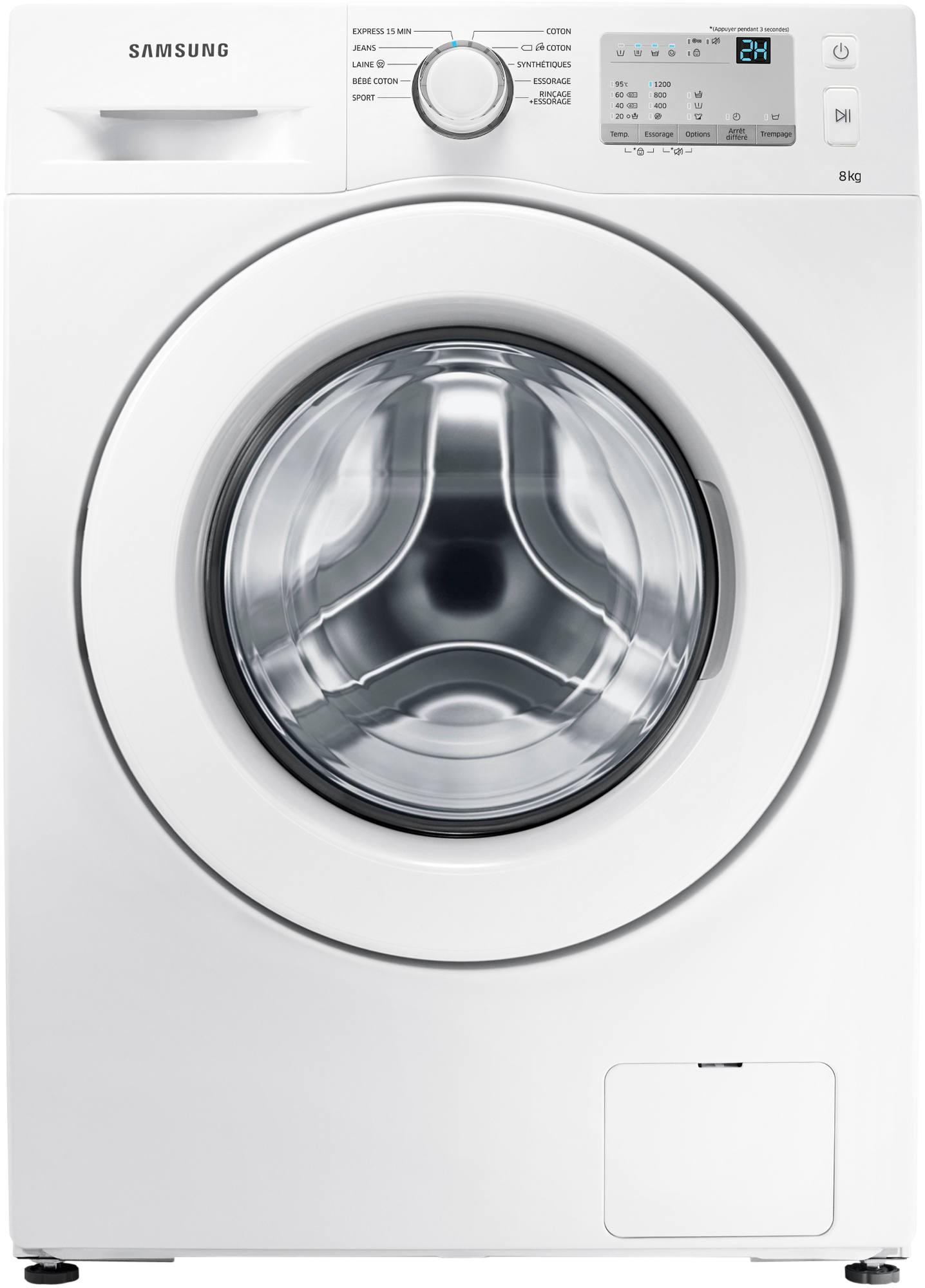 SAMSUNG - WW80J3283KW - 8kg - 1200 trs/mn -  A+++ - Touches sensitives