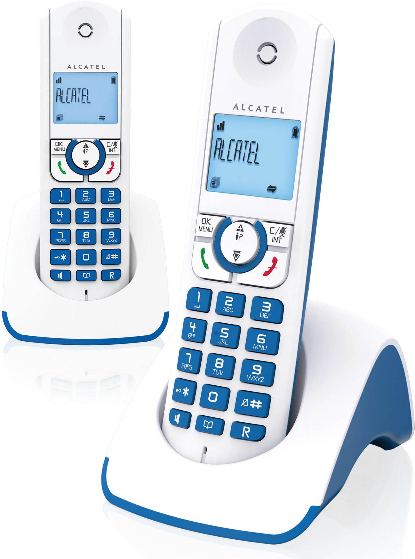 ALCATEL - F 330 S DUO BLEU