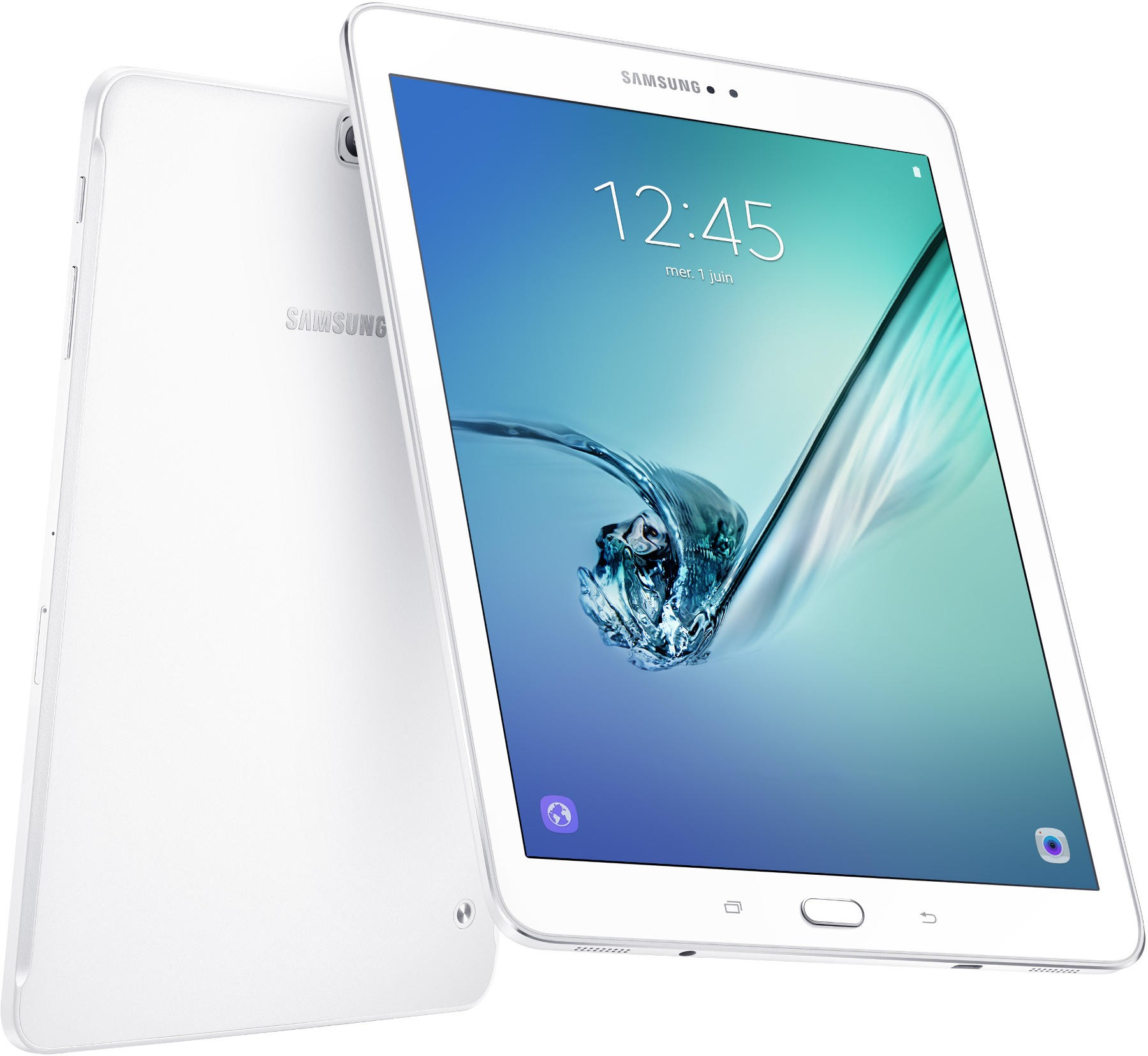 samsung galaxy tab s2 9 7 pouces blanc android 6 0. Black Bedroom Furniture Sets. Home Design Ideas