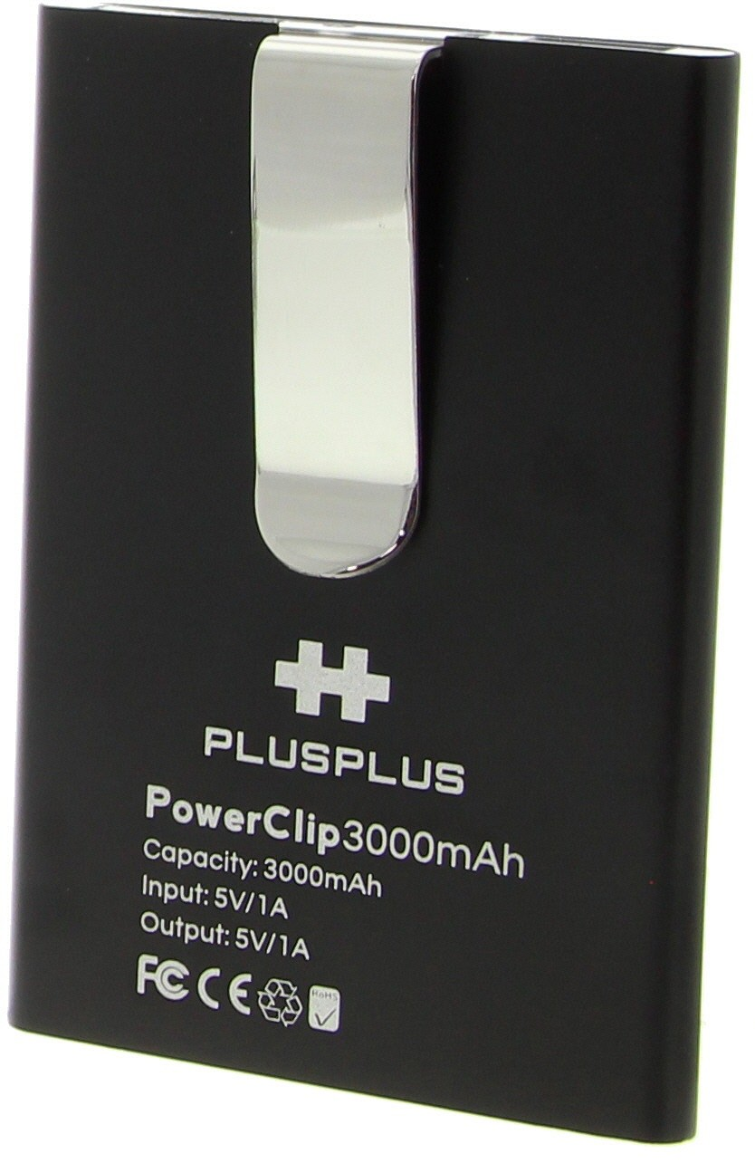 PLUS PLUS - POWERCLIP BK