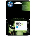 HEWLETT PACKARD › HP - Cartouche d'encre HP 920XL Cyan - CD972AE
