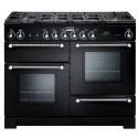 FALCON › Falcon - KCH110DFBLCEU Kitchener 110 cm gaz Noir finition Chrome