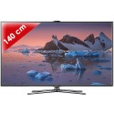 SAMSUNG › SAMSUNG - UE55ES7000 Séries 7 Edge LED - 55 pouces (140 cm) - 800 Hz - HD TV 1080p - Technologie 3D active - Smart TV (TV connectée) - DLNA + Internet