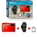 OLYMPUS › Olympus - TG320 Kit Timeless - SD 2 Go + montre étanche