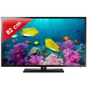 SAMSUNG › SAMSUNG - UE32F5000 Séries 5 Edge LED - 32 pouces (82 cm) - 100 Hz - HD TV 1080p - 2 HDMI - USB