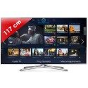 SAMSUNG › SAMSUNG - UE46F6500 Séries 6 Edge LED - 46 pouces (117 cm) - 400 Hz - HD TV 1080p - Technologie 3D active - Smart TV (TV connectée) -  DLNA + Internet - Tuner Satellite