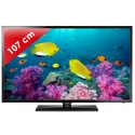 SAMSUNG › SAMSUNG - UE42F5000 Séries 5 Edge LED - 42 pouces (107 cm) - 100 Hz - HD TV 1080p - 2 HDMI - USB