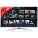 SAMSUNG › SAMSUNG - UE46F6510 Séries 6 Edge LED - 46 pouces (117 cm) - 400 Hz - HD TV 1080p - Technologie 3D active - Smart TV (TV connectée) - DLNA + Internet - Tuner Satellite