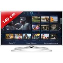 SAMSUNG › SAMSUNG - UE55F6510 Séries 6 Edge LED - 55 pouces (140 cm) - 400 Hz - HD TV 1080p - Technologie 3D active - Smart TV (TV connectée) - DLNA + Internet - Tuner Satellite