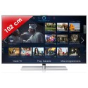 SAMSUNG › SAMSUNG - UE40F7000 Séries 7 Edge LED - 40 pouces (102 cm) - 800 Hz - HD TV 1080p - Technologie 3D active - Smart TV (TV connectée) - Smart Interaction