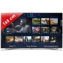SAMSUNG › SAMSUNG - UE65F8000 Séries 8 Edge LED - 65 pouces (165 cm) - 1000 Hz - HD TV 1080p - Technologie 3D active - Smart TV (TV connectée) - Smart Interaction