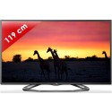 LG › LG - 47LA620S DLED - 47 pouces (119 cm) - 200 Hz - HD TV 1080p - Technologie 3D passive - Smart TV (TV connectée) - DLNA + Internet