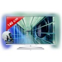 PHILIPS › PHILIPS - 55PFL7108H/12 Edge LED 7000 series - 55 pouces (140 cm) - 700 Hz - HD TV 1080p - Technologie 3D active - Smart TV (TV connectée) - Ambilight