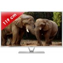 PANASONIC › PANASONIC - TX-L47DT60E Edge LED - 47 pouces (119 cm) - 1600 Hz - HD TV 1080p - Technologie 3D passive - Smart TV (TV connectée) - Contrôle vocal - Double Tuner