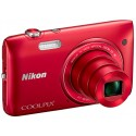 NIKON › COOLPIX S 3500 ROUGE