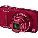 NIKON › COOLPIX S 9500 ROUGE