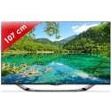 LG › LG - 42LA690S Edge LED - 42 pouces (107 cm) - 400 Hz - HD TV 1080p - Technologie 3D passive - Smart TV (TV connectée) DLNA + Internet