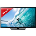 HAIER › HAIER - LE39M600CF Edge LED - 39 pouces (99 cm) - 200 Hz - HD TV 1080p - 2 HDMI - USB