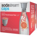 SODASTREAM › Sodastream -  8 Capsules Pamplemousse Rose light - 30925817