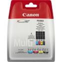 CANON › Canon - Pack cartouches d'encre 4 couleurs CLI-551 PACK