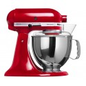 KITCHENAID › KitchenAid - Robot sur socle Artisan Rouge 4.8L (5KSM150PSEER)