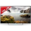 SONY › SONY - KDL40W705CBAEP - Edge LED - 40 pouces (102 cm) - HD TV 1080p (Full HD) - 200 Hz - Smart TV - Wi-Fi intégré