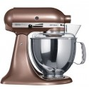 KITCHENAID › KitchenAid - Robot sur socle Artisan Macadamia 4.8L (5KSM150PSEAP)