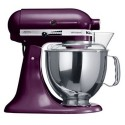 KITCHENAID › KitchenAid - Robot sur socle Artisan Prune 4.8L (5KSM150PSEBY)