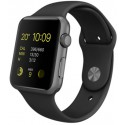 APPLE › APPLE - Apple Watch Sport - Noir / Gris sidéral - 38 mm (MJ 2 X 2 FD/A)