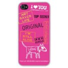 GKIP - Coque Rose Lost Dog Iphone 4 - L 02-00027-01