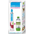 SodaStream - Bouteille Co2 + 1 bouteille PET (3011081)
