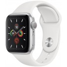 Apple Watch Series 5 GPS 40 mm Silver + Bracelet Blanc - MWV 62 NF/A