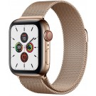 Apple Watch Series 5 GPS + Cellular 40 mm Or + Bracelet Or milanais - MWX 72 NF/A
