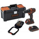 BLACK ET DECKER - BDCDD 186 BT-QW