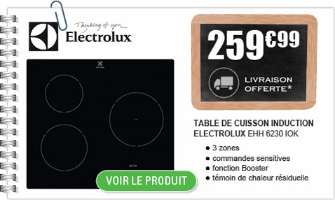 table de cuisson induction Electrolux